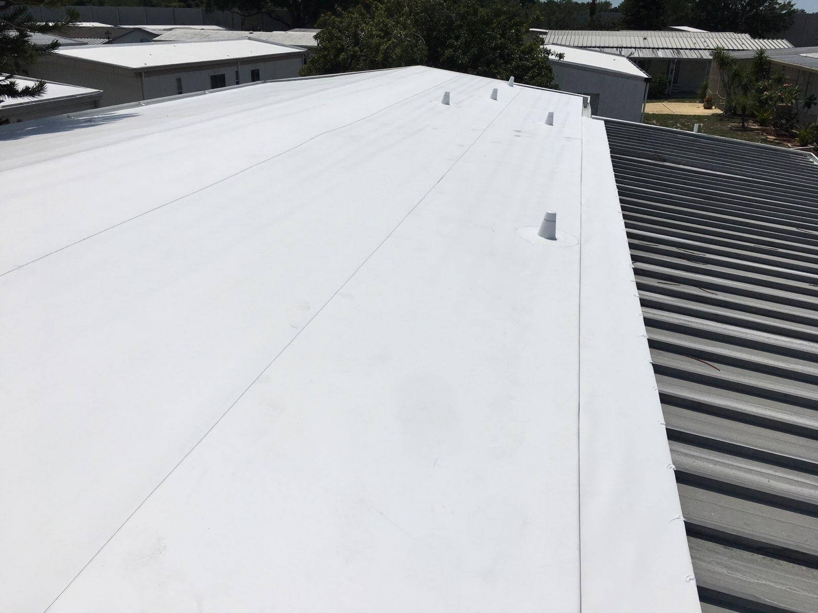Mobile Home Roofing Repair in Largo, FL.