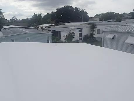 manufactured home roof over