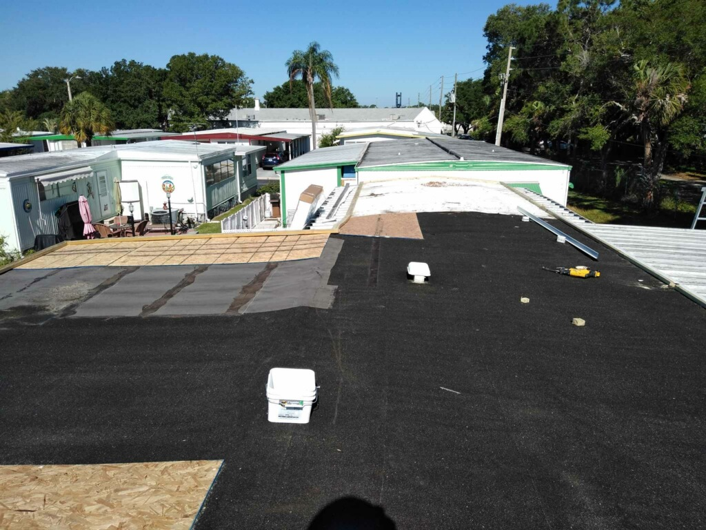 Manufactured Home Roofing Companies Pinellas Park, FL.