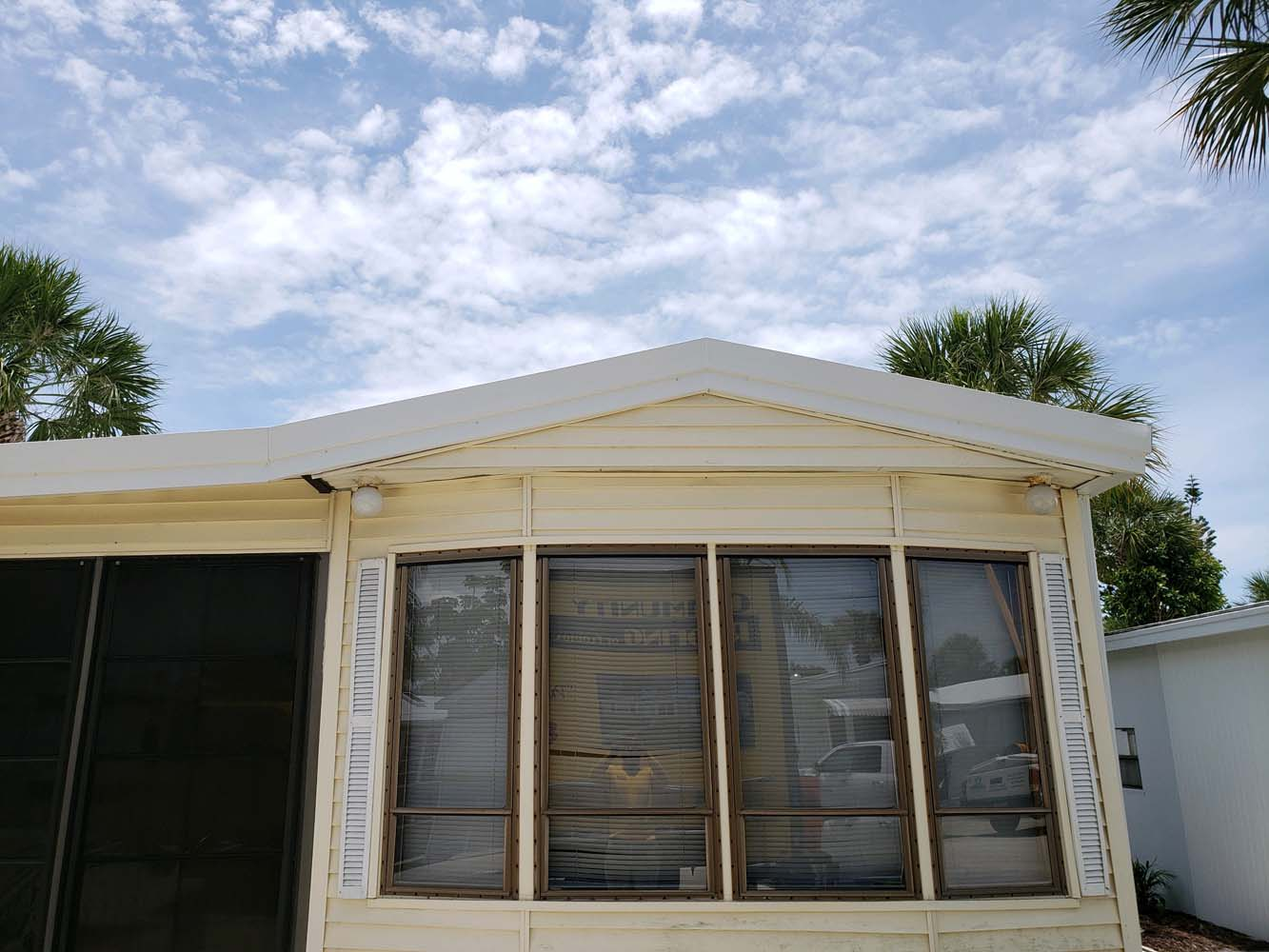 Manufactured Home Roof Over in Fort Myers, FL