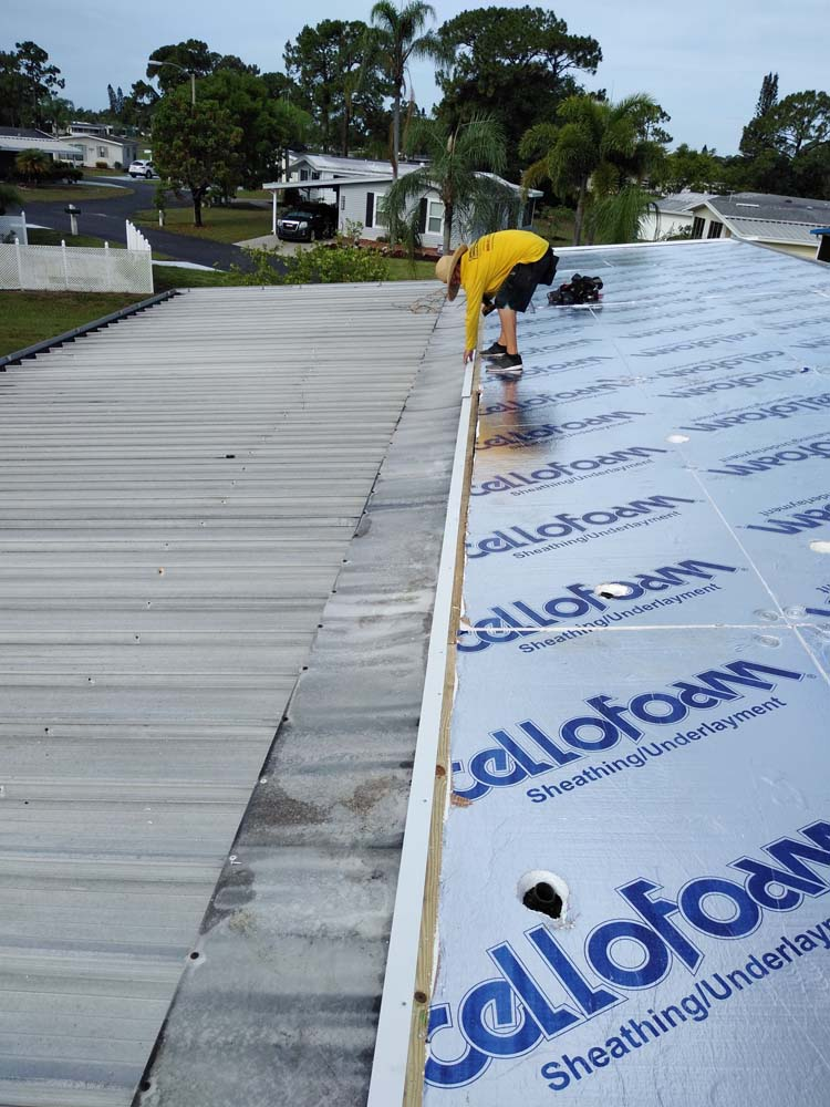Roof Replacement Manufactured Home (North Fort Myers)