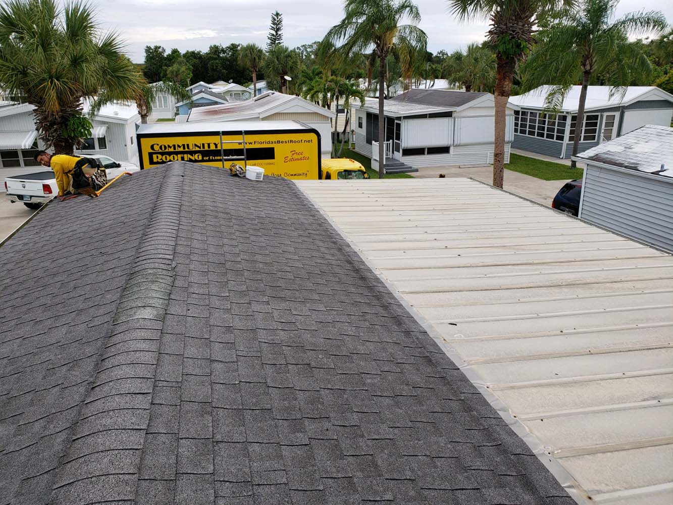 TPO Roof Covering - Fort Myers, FL