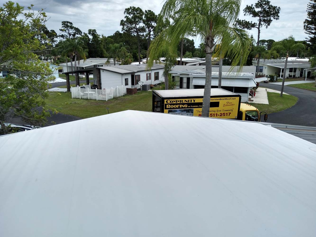 Manufactured Home Roof Replacement North Fort Myers