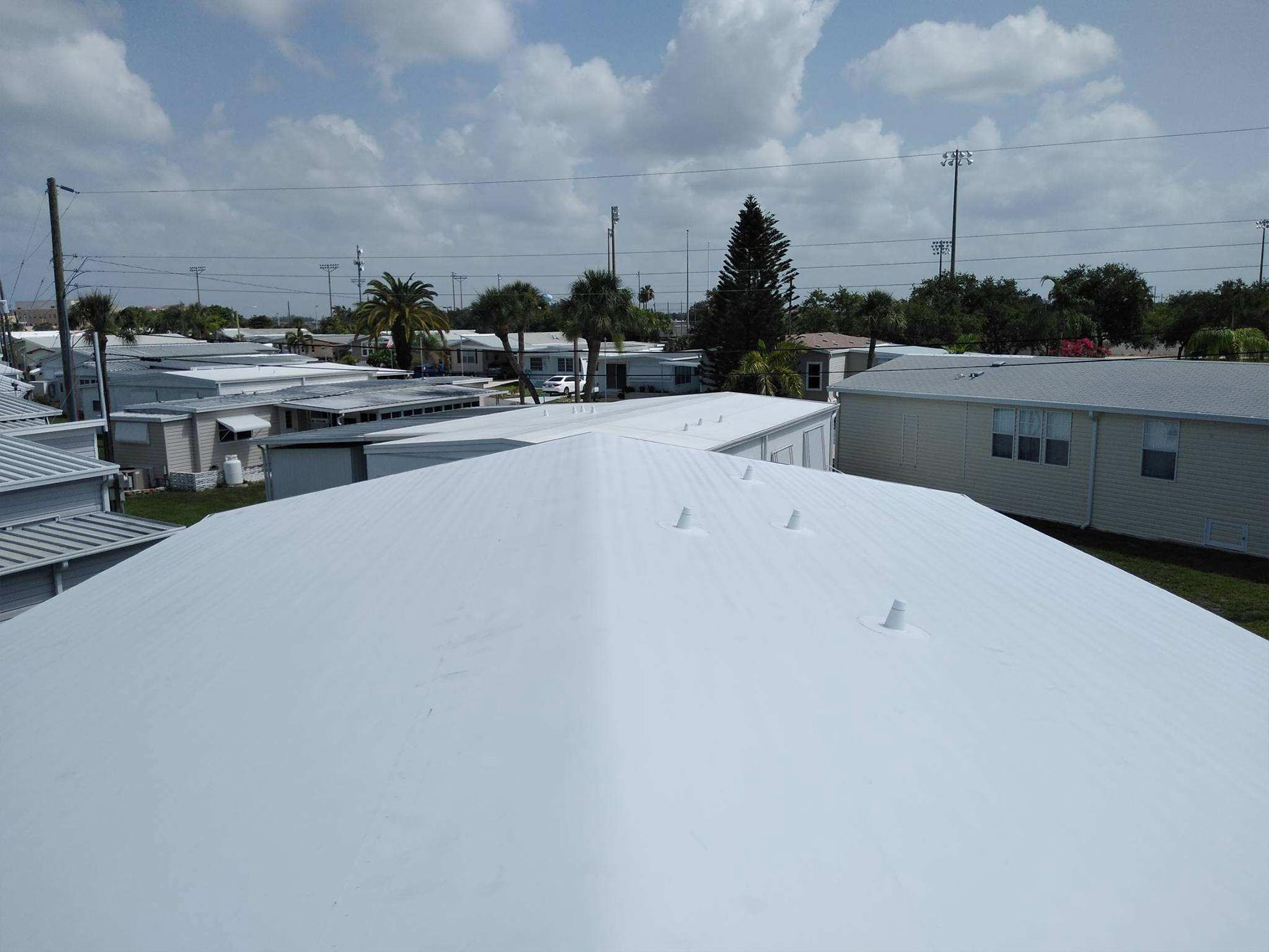 Mobile home roof contractor Venice, FL