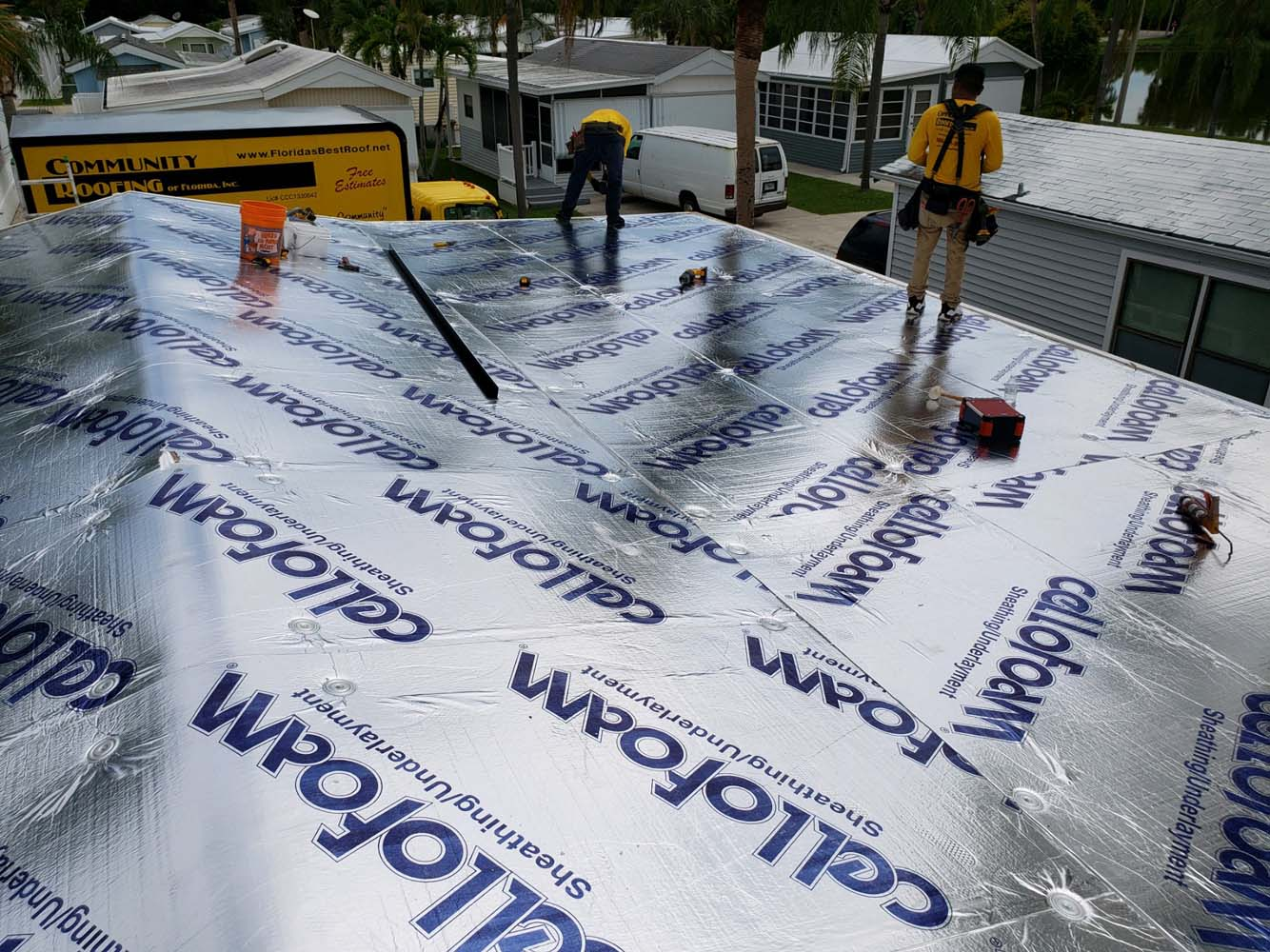 Mobile Home Roof Replacement Fort Myers, FL