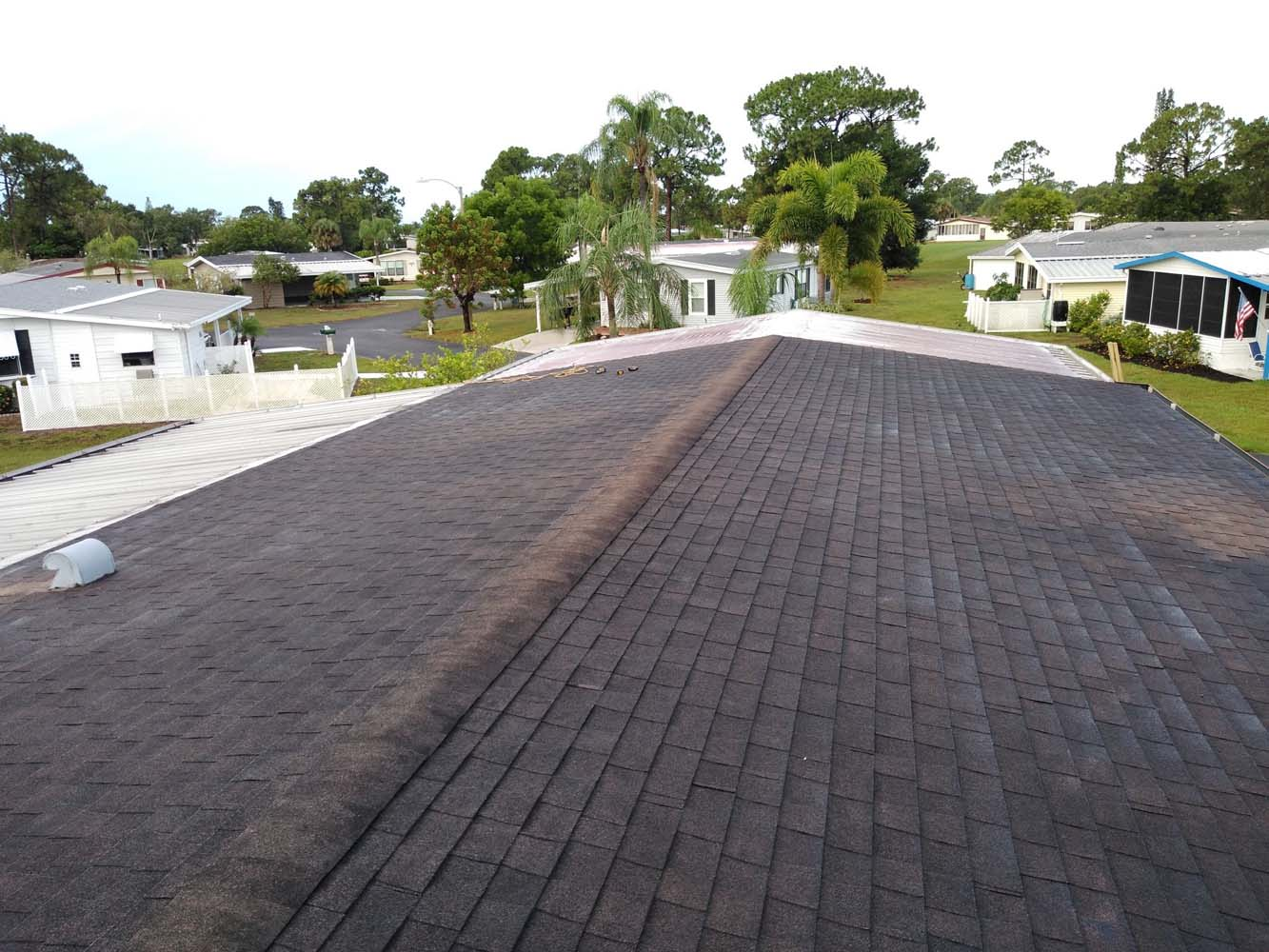 Mobile home roof replacement North Fort Myers, Florida
