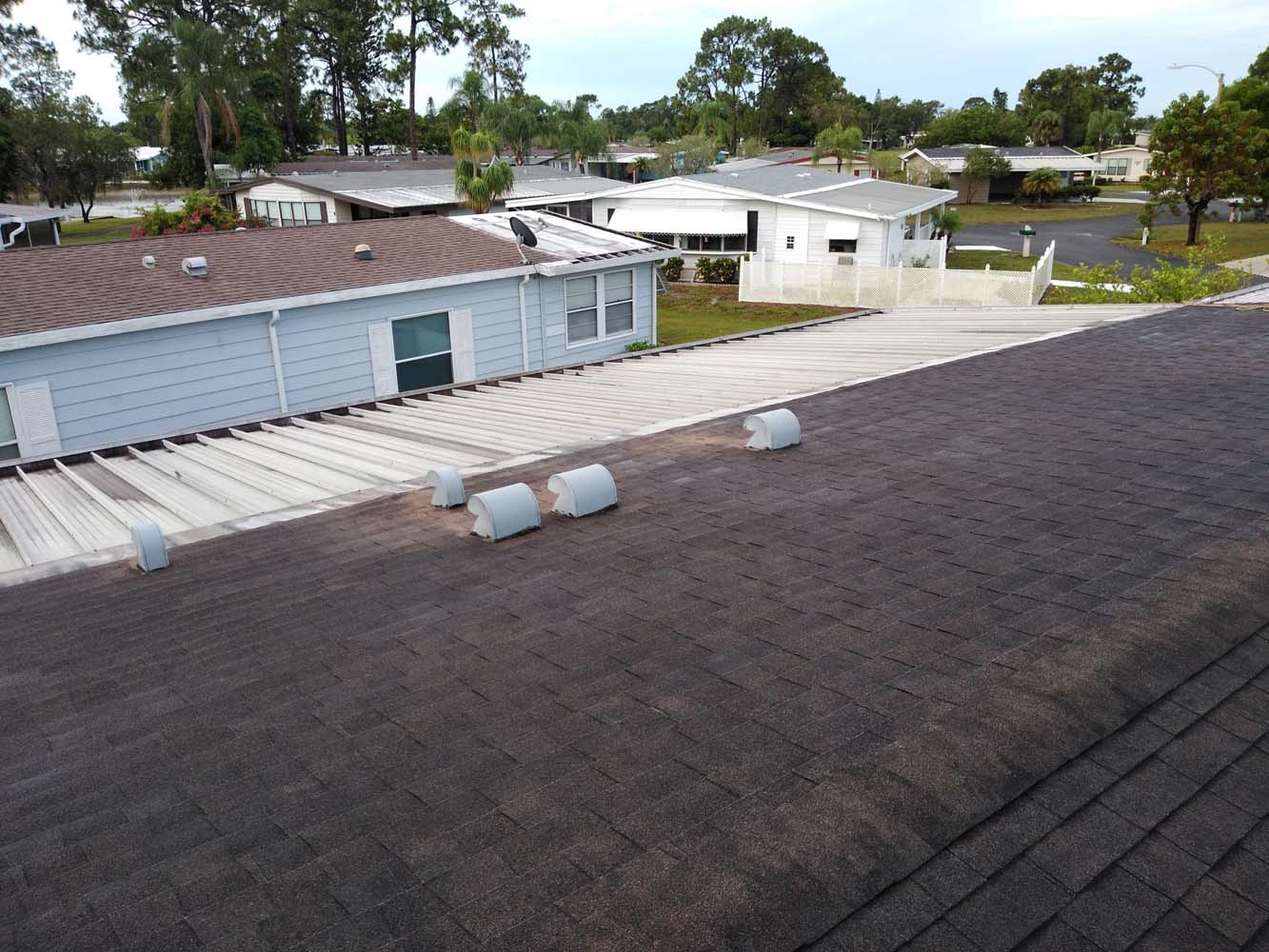 Mobile home roof replacement North Fort Myers
