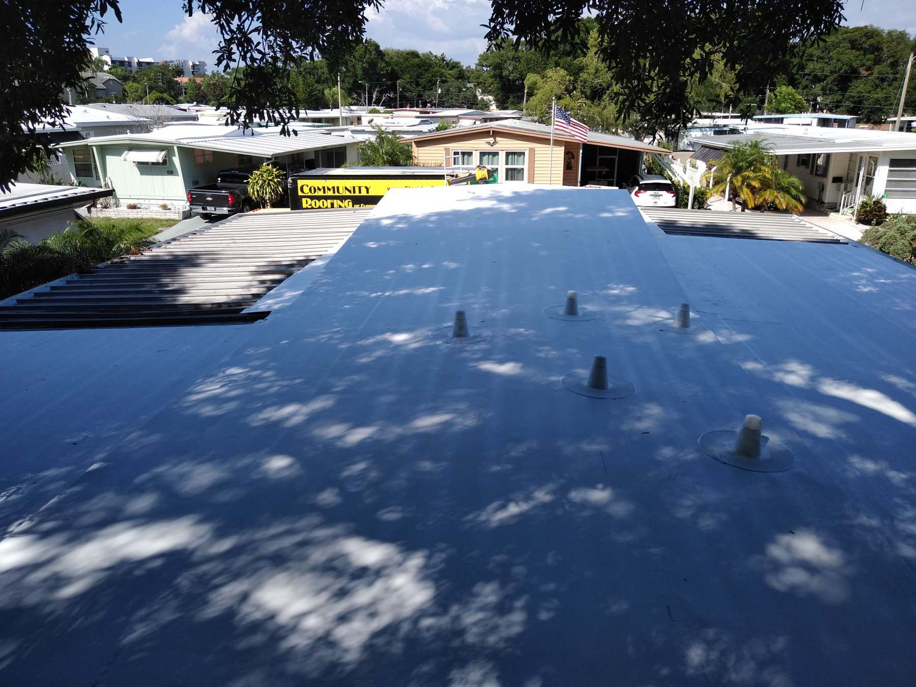 Clearwater Mobile Home Roofing Contractor.