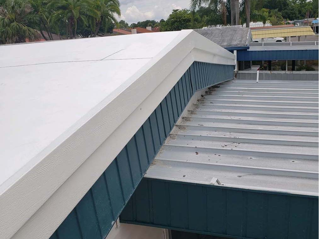 Mobile Home Roof Over in Largo FL