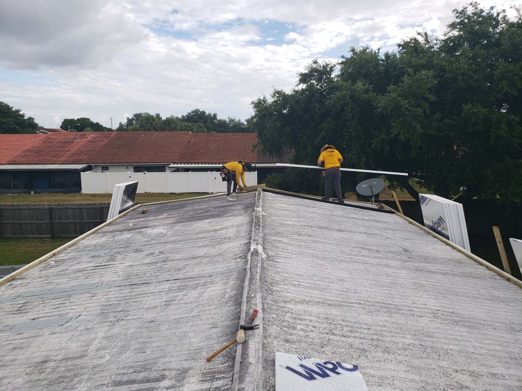 Manufactured Home Roofing Companies Largo, FL.