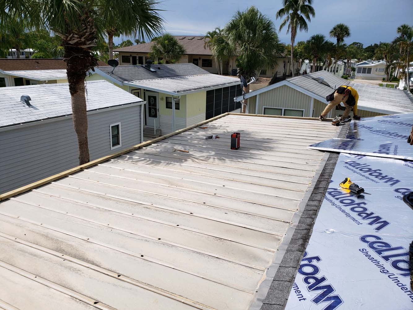 Roof Repair Mobile Home (Fort Myers, FL)