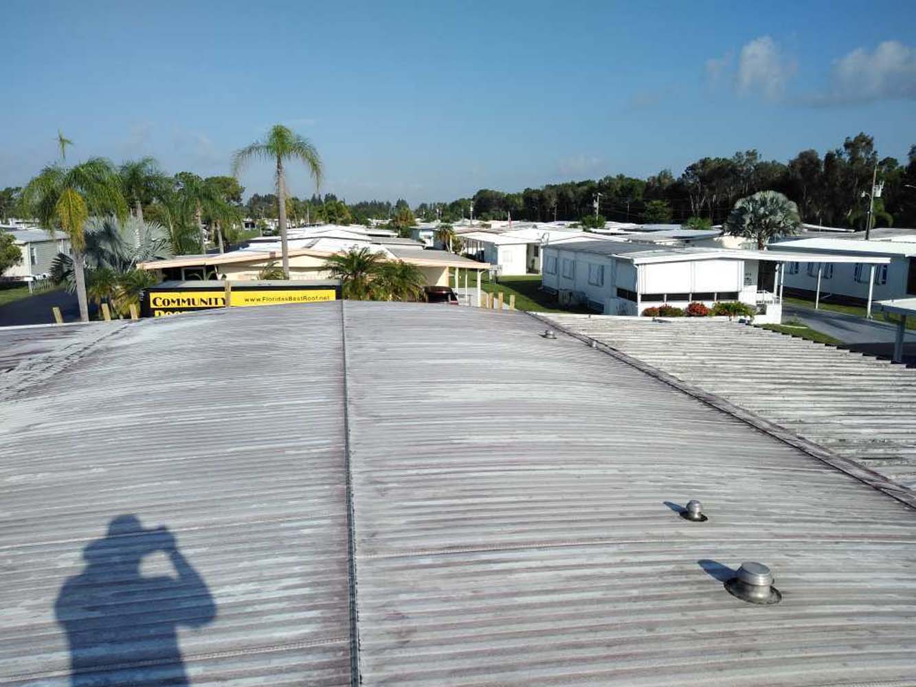 Mobile home roof contractor North Fort Myers, FL